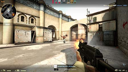 Et skjermbilde av CS: GO (Counter-Strike: Global Offensive)