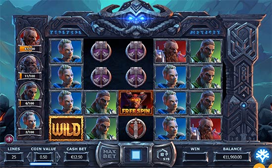 Vikings go to Hell slot av Yggdrasil.